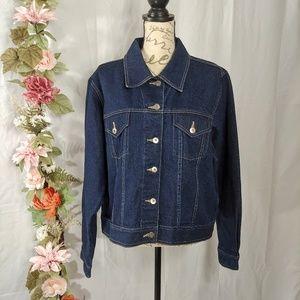 Venezia Dark Wash Denim Jacket size 18/20